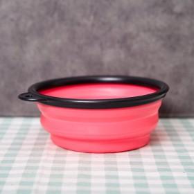 ABM(C)애견 접이식그릇 핑크