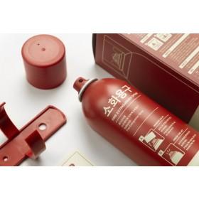 [세이프티랩] 주방/차량화재 초기진압 원터치 강화액 소화기