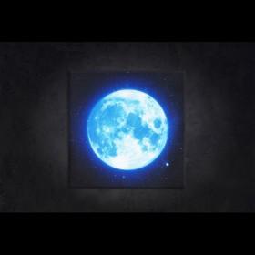 나이트팝 LED액자 - 블루문