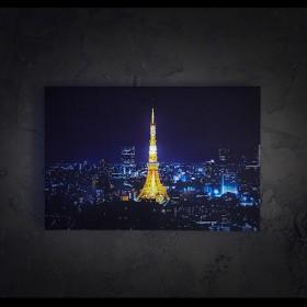 나이트팝 LED액자 - 도쿄타워의 야경